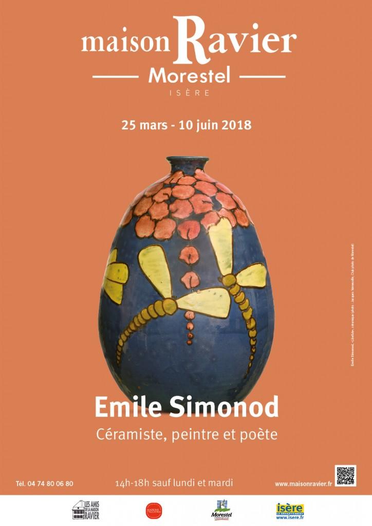 Maison Ravier - Affiche Simonod